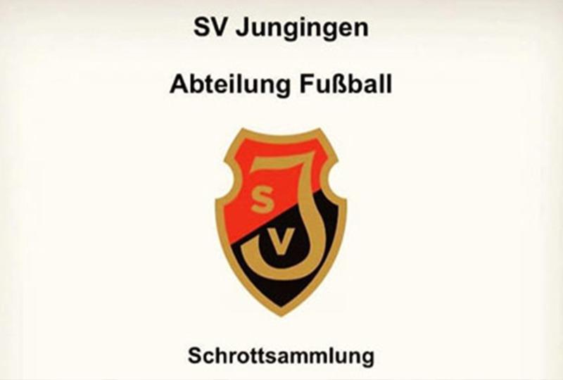 SV-Jungingen-Fussball-Schrottsammlung