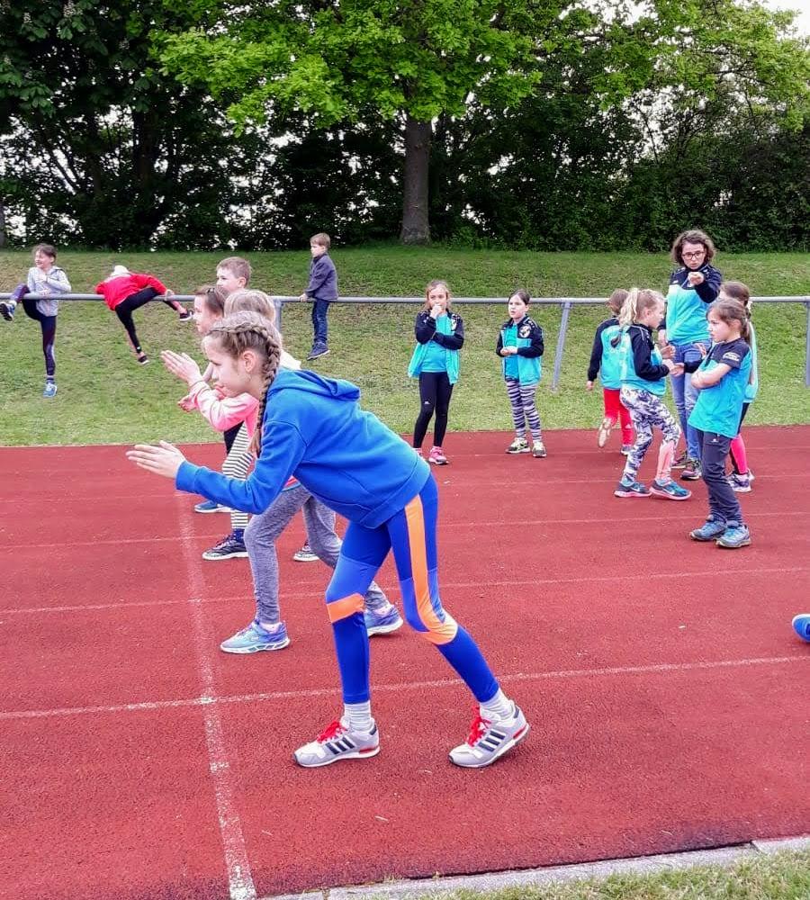 Leichtathletik-Kinderliga-Start